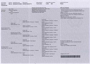 Регистрационный сертификат для лошадей из KFPS D-book, B-Book I и B-Book II